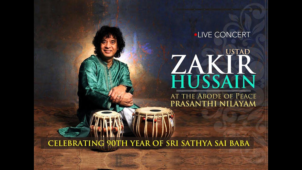 Tabla maestro Ustaad Zakir Hussain