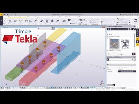 Astuce Tekla Structures : Bolt Tool