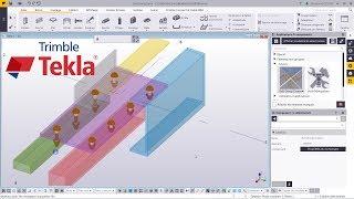 Astuce Tekla Structures : Outil Boulon