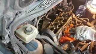 VW Caddy Bse Bsf Bfq 1 часть как заменить свечи, ГРМ, сброс сервисного интервала, ТО