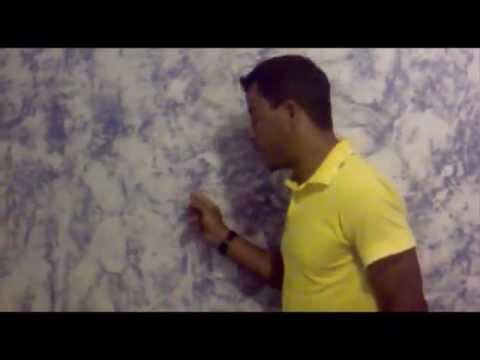 Pintura de parede com efeito youtube - Pinturas de paredes ...