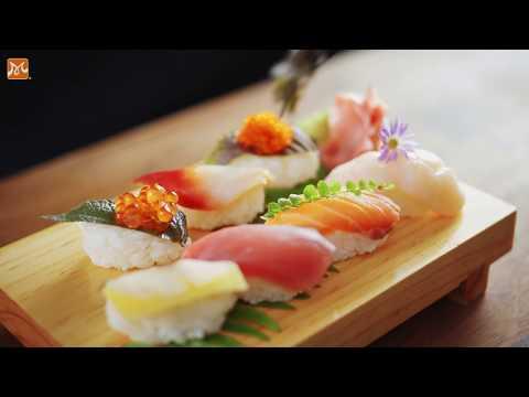 Tự Tin Vào Bếp Làm Nigiri Sushi Nổi Tiếng Của Nhật Bản   Học Nấu Ăn Ngon   Hướng Nghiệp Á Âu