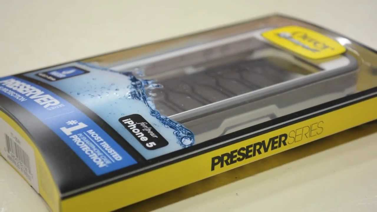 classic fit bb0b1 d6bff OtterBox Preserver Case - iPhone 5/5S - Indepth Review