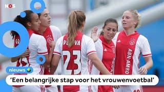 De Eredivisie Vrouwen is begonnen, en voor het eerst te volgen op tv