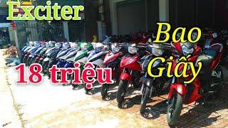 Exciter giá 18 Triệu Tại cửa hàng xe máy Tấn Tới | Ngố Nguyễn