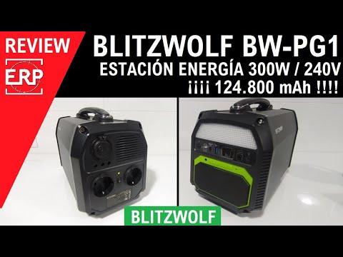 Estación de Energía Blitzwolf BW-PG1 / 220-240V / 300W / ¡¡¡ 124.800 mAh !!! ENCHUFALO TODO