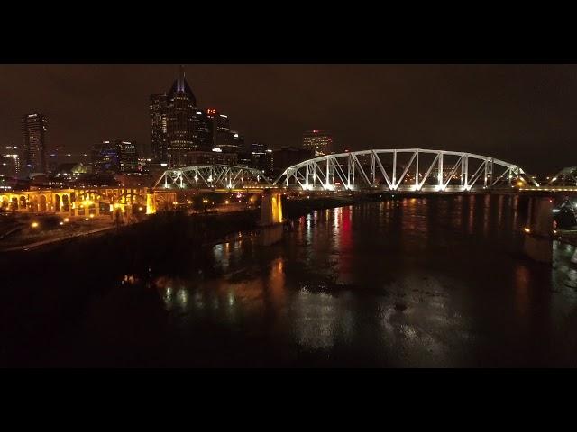 Drone clip of Nashville, TN