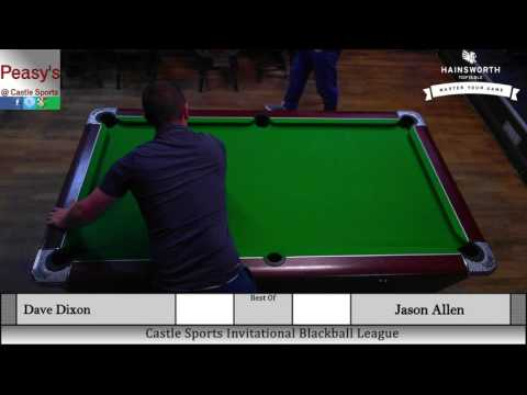 Dave Dixon Vs. Jason Allen (Blackball Last 16 2016)
