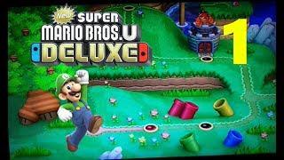 #01 - Der Switch-Port des Wii U-Abenteuers // New Super Mario Bros U Deluxe (Switch)