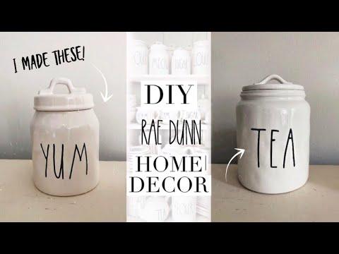 DIY RAE DUNN   farmhouse style home decor   taylor bee