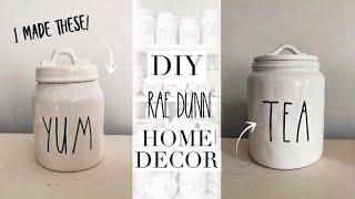 DIY RAE DUNN | farmhouse style home decor | taylor bee