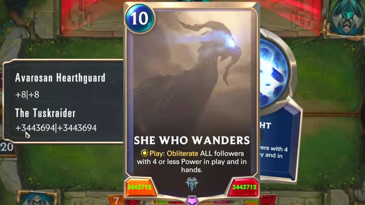 *NEW* 30 MILLION DAMAGE SHE WHO WANDERS! -  Legends of Runeterra Funny Moments #69 | LoR Highlights