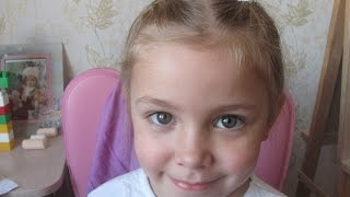 КАК ДЕЛАТЬ КРАСИВУЮ ПРИЧЕСКУ ДЛЯ ОБАЯТЕЛЬНОЙ ДЕВОЧКИ.(Александра Романовна показывает свою супер прическу для красивой девочки. Привет всем Ютуберам !!! Вас..., 2015-11-07T19:37:55.000Z)
