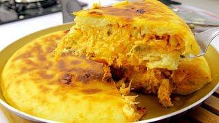 Torta de Frango que não vai ao Forno