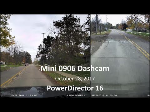 Mini 0906 Dual Dashcam
