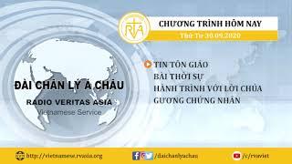 CHƯƠNG TRÌNH PHÁT THANH, THỨ TƯ 30/09/2020