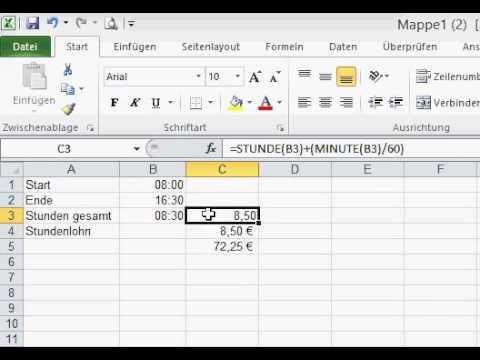 Fantastisch Gehaltsabrechnung Generator Excel Fotos - Bilder für das ...