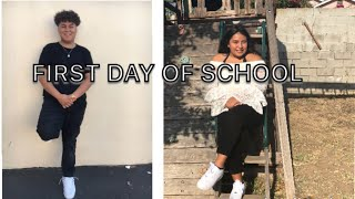 GRWM FIRST DAY OF SCHOOL 2018