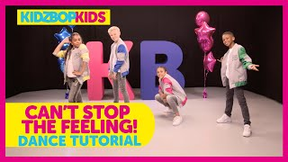 KIDZ BOP Kids - Can't Stop The Feeling! (Dance Tutorial)