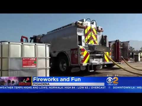 Firework Displays Across LA To Mark America's Birthday