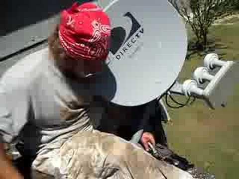 Removing the Satellite Dish part two