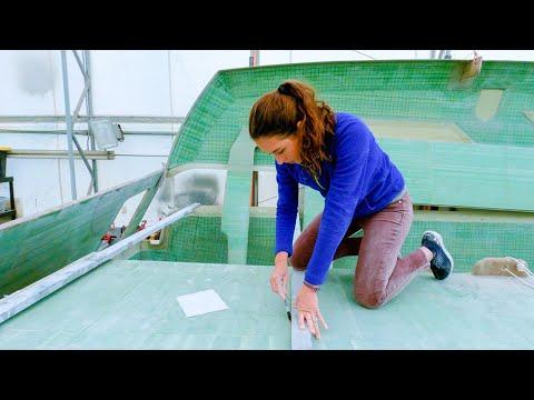 CATAMARAN BUILD - Measuring Bulkhead Spacing (MJ Sailing - Ep 190)