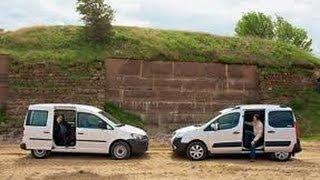 Наши Тесты Citroen Berlingo против Volkswagen Caddy