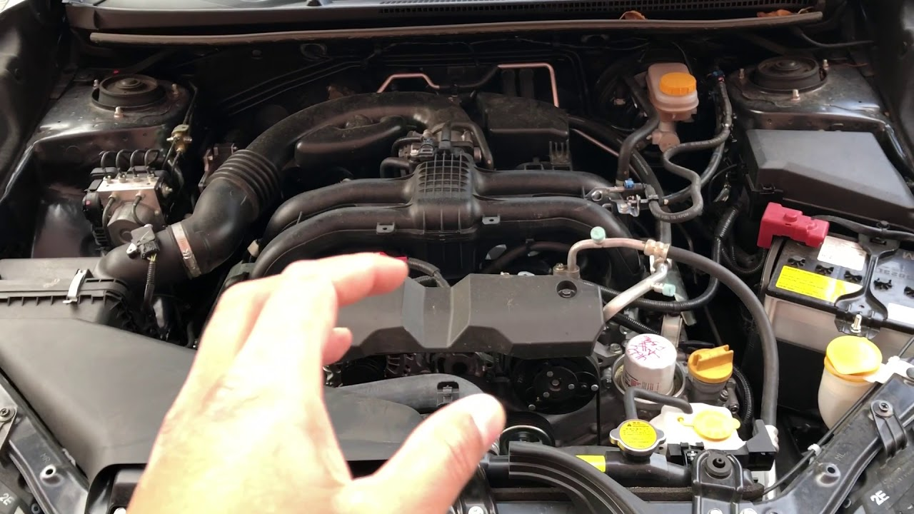 Subaru Crosstrek Fuse Box