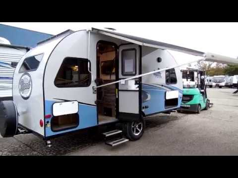 2018 1 2 R Pod 190 By Forestriver Travel Trailer Camping Tear Drop Trailers