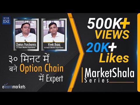 ३० मिनट में बने options chain में expert | सीखें एक real options trader से !