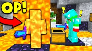 WORLD'S BEST MINECRAFT CAMO TROLL! (Minecraft Trolling)
