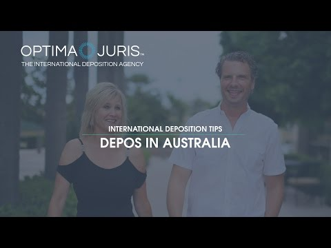 International Deposition Tips: United States Depositions in Australia