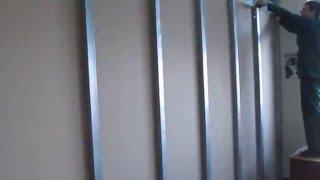 Монтаж перегородки из гипсокартона своими руками(Монтаж перегородки из гипсокартона своими руками., 2015-12-10T12:51:57.000Z)