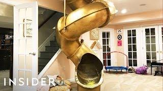 Basement Renovations Hide Slides And Secret Rooms