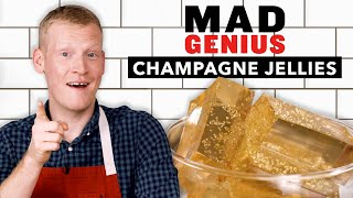 How To Make Champagne Jellies For New Year's Eve | Mad Genius