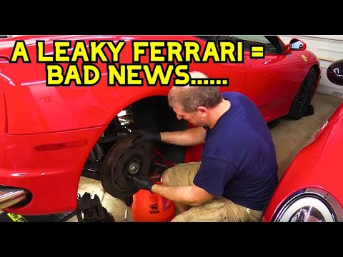 How to replace a CV Boot on a Ferrari F430