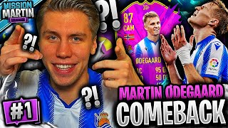 MISSION MARTIN RELOADED!! 👀💎 **MARTIN ØDEGAARD sitt COMEBACK** #1