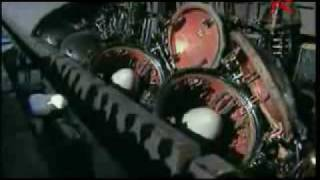 Russian Navy Ships and aircraft In Action(Rammstein-Sonne).flv