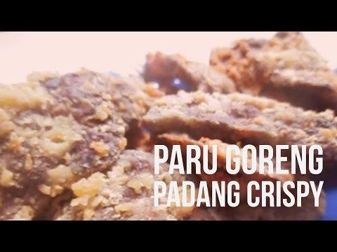 Resep Dan Cara Membuat Paru Goreng Crispy Ala Masakan Padang Mudah Dan Praktis