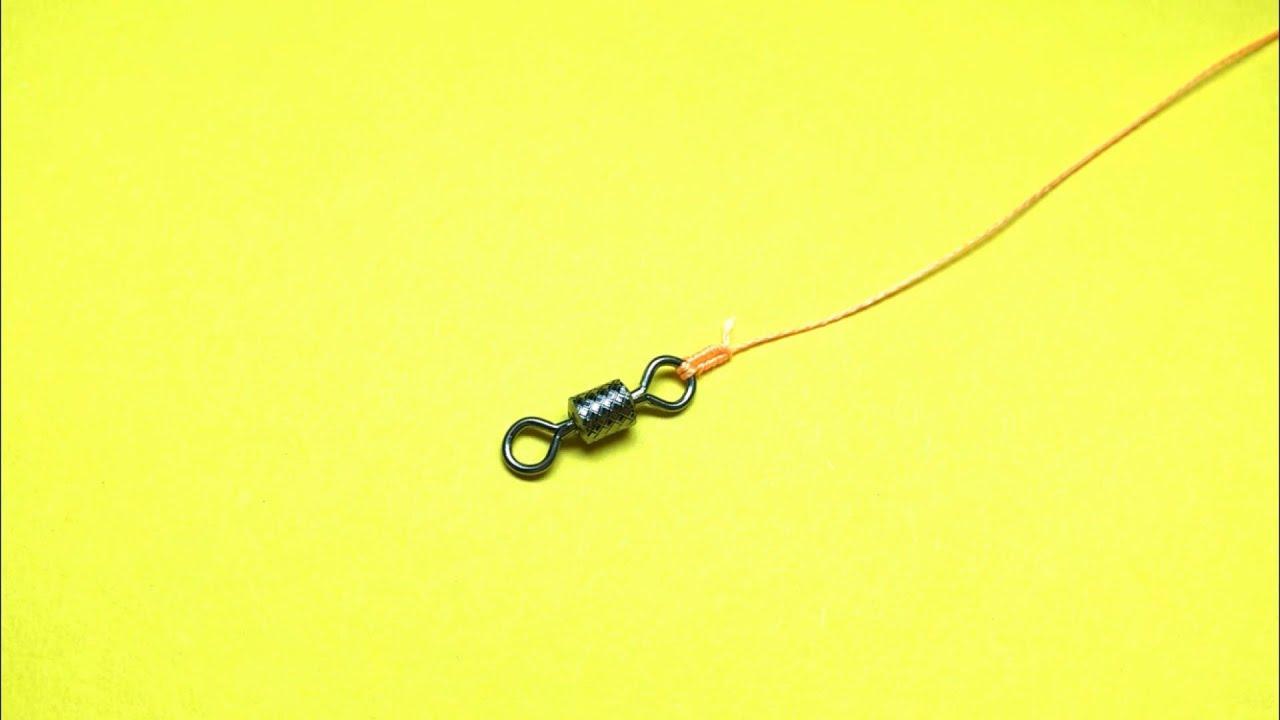 Лучший рыболовный узел offshore swivel knot. Как привязать вертлюжок к леске. Самоделки для рыбалки