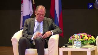 زيارة لوزير الخارجية الروسي تتناول العلاقات الثنائية والتطورات الإقليمية - (9-9-2017)