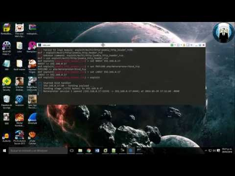Explotando Remote Code Execution in Joomla 3 4 5