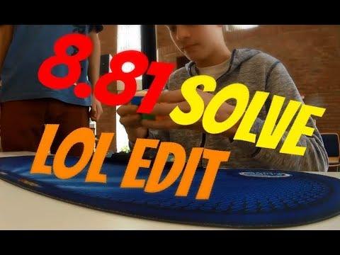 LoL Edit - 8.81 3x3 Solve - Olivier Vos