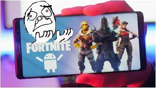 Fortnite Mobile - Android Lag Issues...