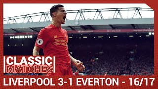 Premier League Classic Liverpool 3 1 Everton Coutinho magic on derby day