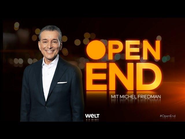 #OPENEND: Die neue WELT-Talkshow OPEN END mit Michel Friedman - Thema WUT