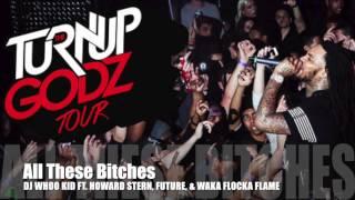 DJ WHOO KID Ft. Howard Stern, Future, amp Waka Flocka Flame - All These Bitches
