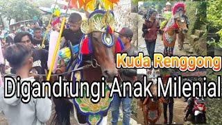 Download lagu Kuda Renggong Digandrungi Anak Milenial Dancing Horse MP3
