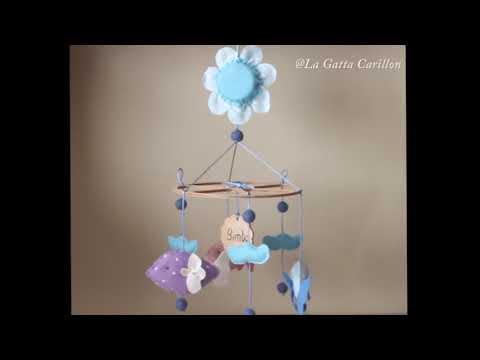 CARILLON PER CULLA PESCIOLINI, carillon bimbo (Melodia: Ninna Nanna)