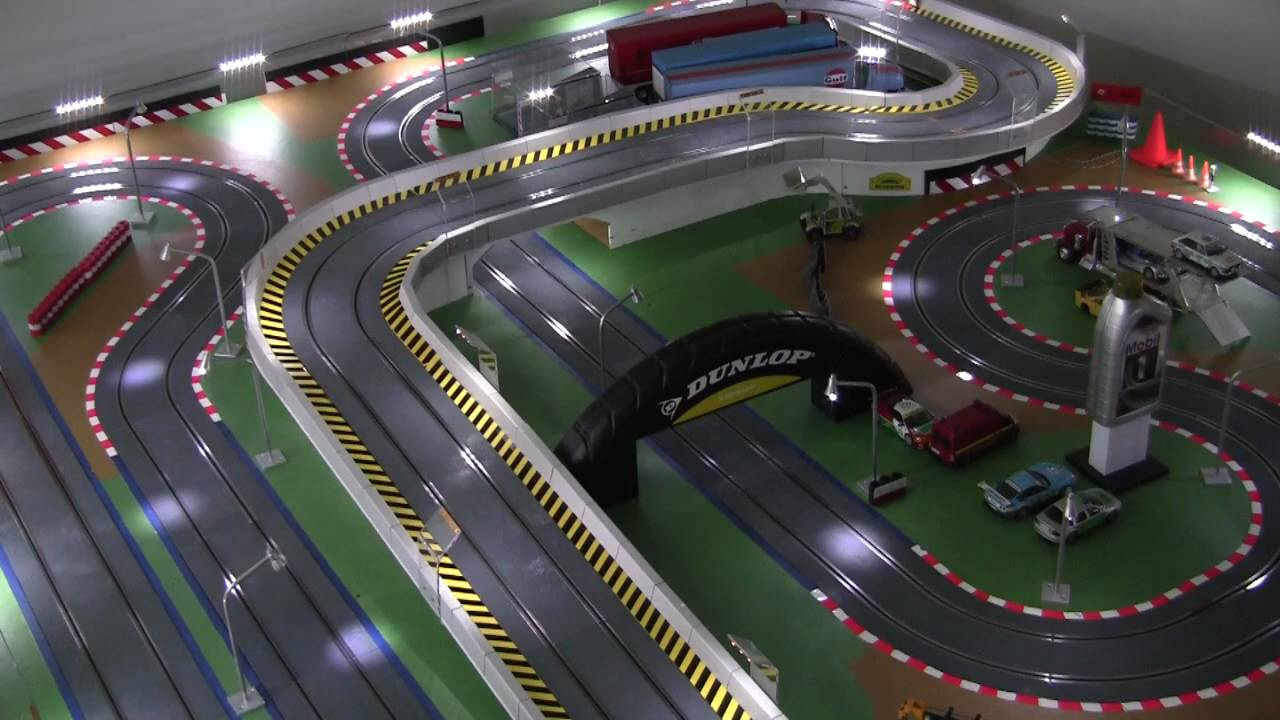 Slot car racing videos youtube
